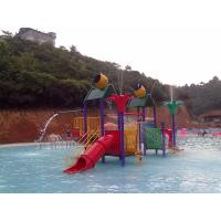 China Custom Water Play Features Kids Outdoor Water Toys , Water Playground Equipment on sale