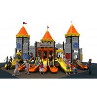 Best new designe colorful castle  slide  and  outddoor playground equipment for kids wholesale