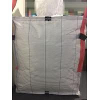 China High Performance FIBC Jumbo Bag With Flat Bottom Or Discharge Spout Bottom on sale