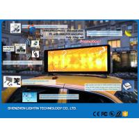 Best IP65 led display car roof signs Panel , DC5V led car display 3G 4G Control wholesale
