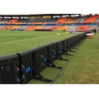 China High Resolution Sports Led Display Screen , P8 Football Advertising Boards on sale