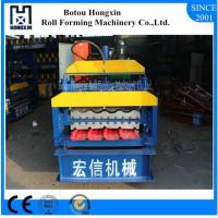Best Steel Double Layer Roll Forming Machine , Electrical Motor Roofing Sheets Machine wholesale