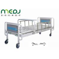 China Home Care Manual Hospital Bed MJSD06-04 With Aluminum Alloy Side Rail on sale