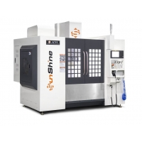 China High Speed 11kw 3 Axis VMC Machine With Ball Linear on sale