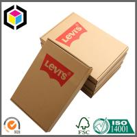 China Online Store Corrugated Cardboard Shipping Box; Red Color Shipping Box on sale