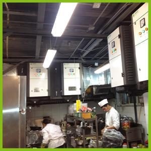 China Commercial kitchen ESP for oil mist elimination on sale