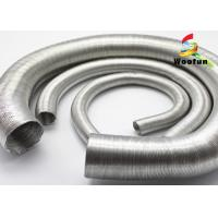 Best Aluminum Foil Auto Air Duct Hose Lightweight Paper Craft Protective Round Bellows wholesale