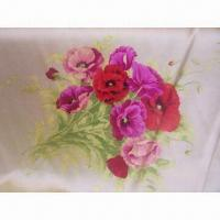 Best Satin Printed Silk Fabric, Made of 100% Silk, Various Designs and Widths are Available wholesale