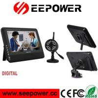 Best 2.4GHZ Wireless Digital Two Way Talk Weatherproof Security Cameras 300cd / m2 wholesale