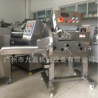 China Adjustable Cooked pork beef mutton slicing cutting machine/ Automated cooked meat slicer cutter for meat on sale