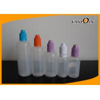 Best 10ml E Liquid Bottles 5ML -30ML LDPE Plastic Squeeze E-cigarette Liquid bottles with childproof cap wholesale