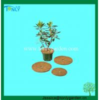 China Coco Disc, Coconut Fiber Mulch Weed Mat, Coco Grow Mat on sale