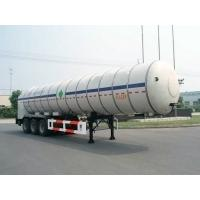 Best 27000L-3 Axles-Cryogenic Liquid Lorry Tanker for Liquid Carbon Dioxide wholesale