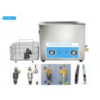 Best Analog Control Ultrasonic Parts Cleaner , 22L Ultrasonic Fuel Injector Cleaning Machine wholesale