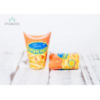 China Butterfly Hot Food Takeaway Containers Customized Printing For Potato Fries on sale