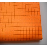 China 100% polyester esd conductive fabric for lab coat SFF-019 on sale