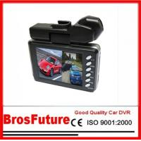 Best 2.0inch TFT Screen AVI Dual Camera Vehicle Car DVR 120 Wide Angle / Wide-angle Lens wholesale