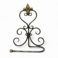 Best Bathroom Towel Holder, Made of Metal in Antique Gold Finish, Measuring 17 x 6.5 x 24cm wholesale