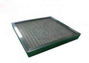 Best Washable High Temperature Pre Air Filter Corrosion Resistant With SUS Frame wholesale