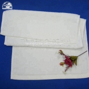 Best Bleach Salon 145g/Pc White Cotton Face Towel wholesale