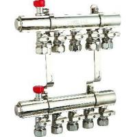 China Complete Pre-Assembled Brass Manifold for Floor Heating (TOMILAKE-001) on sale