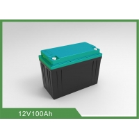 Best Rechargeable 1.28KWh 12V 100Ah LiFePO4 Bluetooth RV Battery wholesale