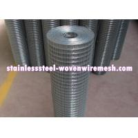 Best Durable Stainless Steel Welded Wire Fabric , Stainless Steel Wire Mesh Panels wholesale