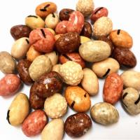 China Soy Sauce Coated Peanuts Roasted Snacks With Halal Kosher Sell Well colorful snacks food on sale