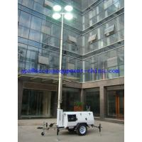 Best 9m Mobile Diesel Lighting Tower with Kubota Diesel Engine 960kg Weight wholesale