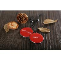 Best PVC Ntag216 Epoxy NFC Tag RFID HF Inlay with 3M adhensive tape wholesale