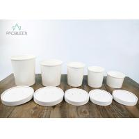 Best Leak Proof Disposable Take Away Food Containers Round Soup Cups With Lids For To Go Order wholesale