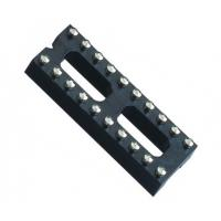 Best IC Socket 2*10P 180° H=3.0 Round female Header 7.62 with center bar wholesale