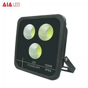 Best exterior waterproof IP65 black 150W LED Flood light for exhibition usd wholesale