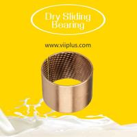 Best Steel Copper Plated Or Tin Plated Dry Sliding Bearing Bushings CuPb10Sn10 Material wholesale