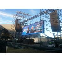 Buy cheap High Resolution 3.91mm Outdoor Rental Led Screen Wall For Stage Background from wholesalers