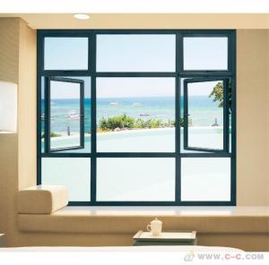 Best Horizontal Aluminum Casement Windows Noise Insulation Powder Coating Waterproof wholesale