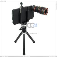 Best 4 in 1 Lens 8x Telescope Wide Angle Fish Eye Macro W/ Tripod for iPhone 4S---P-iPHN4SLEN001 wholesale