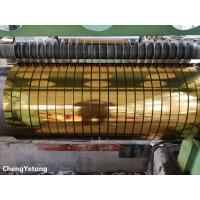 China Metallic Gloss Stainless Steel Slit Coil , Corrosion Resistance Stainless Steel Coil Stock on sale