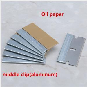 Best Wholesale folding replaceable straight razor blade single edge nape blade wholesale