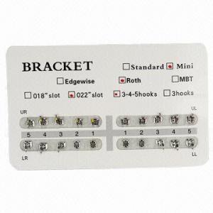 Best Dental Orthodontic Bracket, Mini/Roth/022/3-4-5 Hooks wholesale