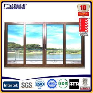 Best aluminium frame sliding glass doors wholesale