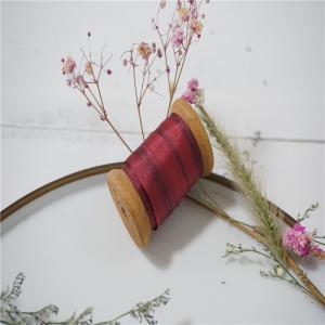 Best 7mm 071-072-073#  variegated silk ribbon,multicolor ribbon,rainbow 100% silk ribbon,ribbon,embroidery ribbon wholesale