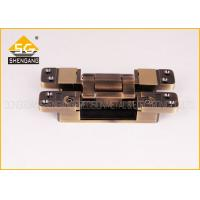 Best 3D Invisible Hinges Exterior Door Three Way Hinge , Hidden Hinges For Cabinets wholesale