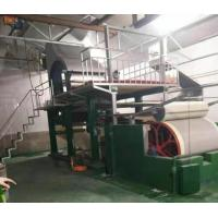 China 787mm rice straw toilet tissue paper making machine on sale