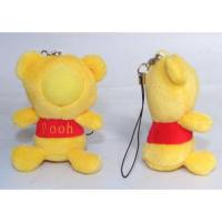 Supply 3d face doll-Yellow Teddy