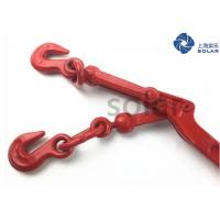 China Standard Lever Type Load Binder , Lever Chain Binder With Color Painted Surface on sale