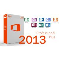 China English Microsoft Office 2013 Professional Plus Key Code One code for One PC on sale