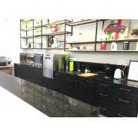 China Commercial Black Honed Finish Quartz Countertops That Look Like Marble on sale