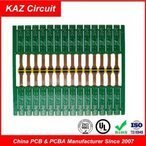China 2 Layer PCB Board FR-4&PI ENIG Rigid Flex Circuit Board 1.6 Mm 1 Oz Copper on sale