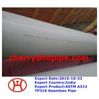 China ASTM A312 TP316 Seamless Pipe on sale